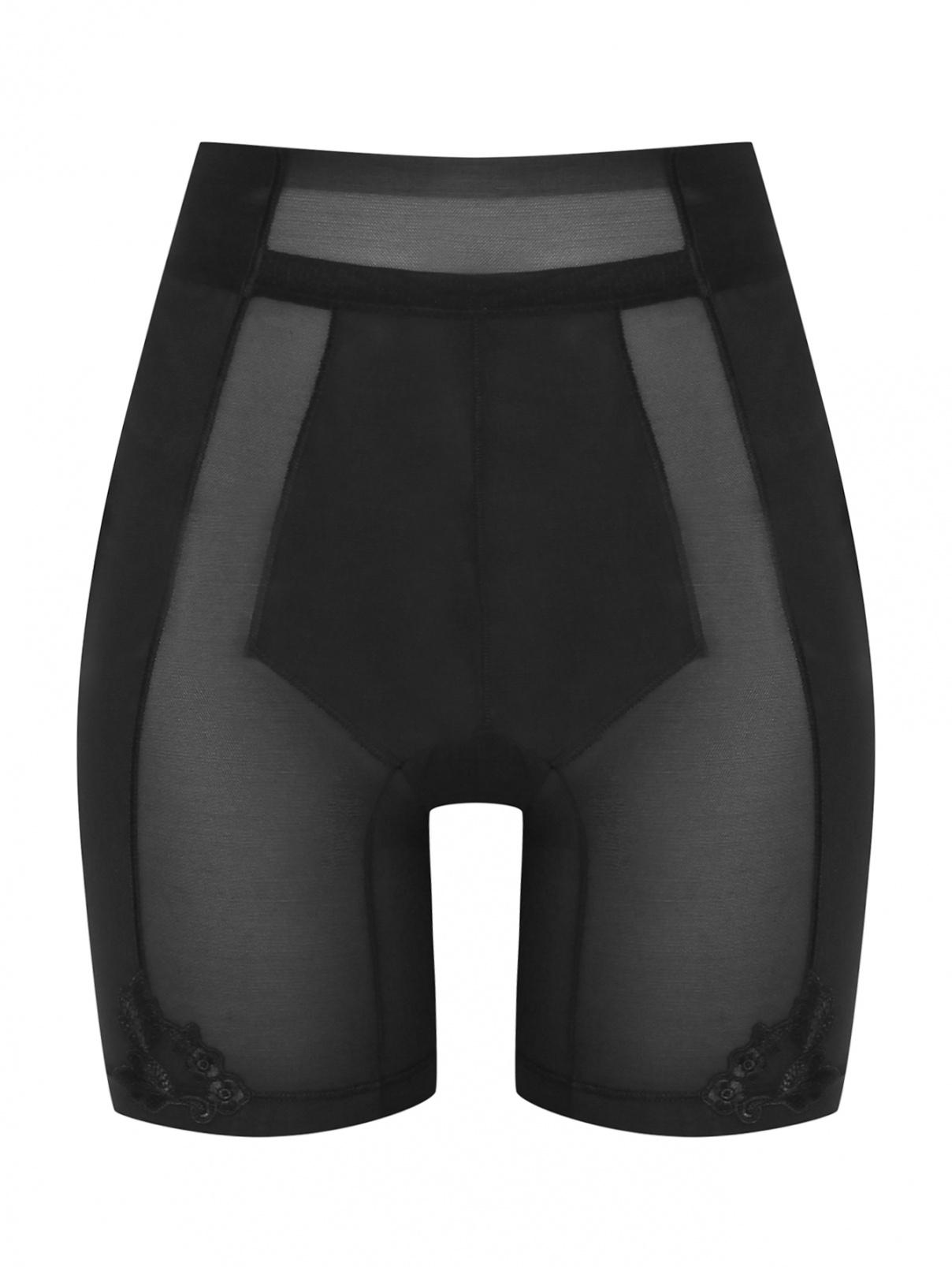 Панталоны из сетки декорированные вышивкой La Perla  –  Общий вид