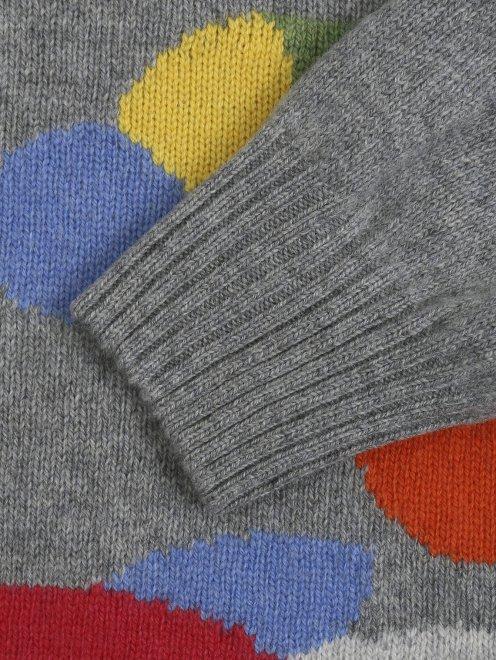 Джемпер из шерсти и кашемира с узором - Деталь1