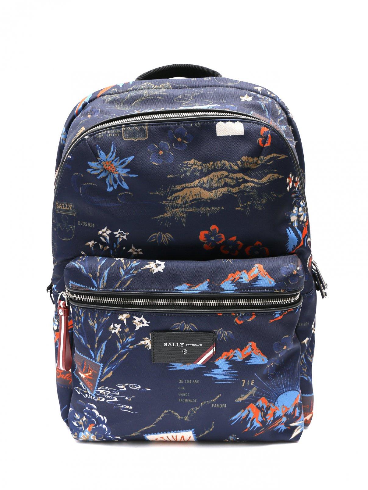 Рюкзак с узором Bally  –  Общий вид