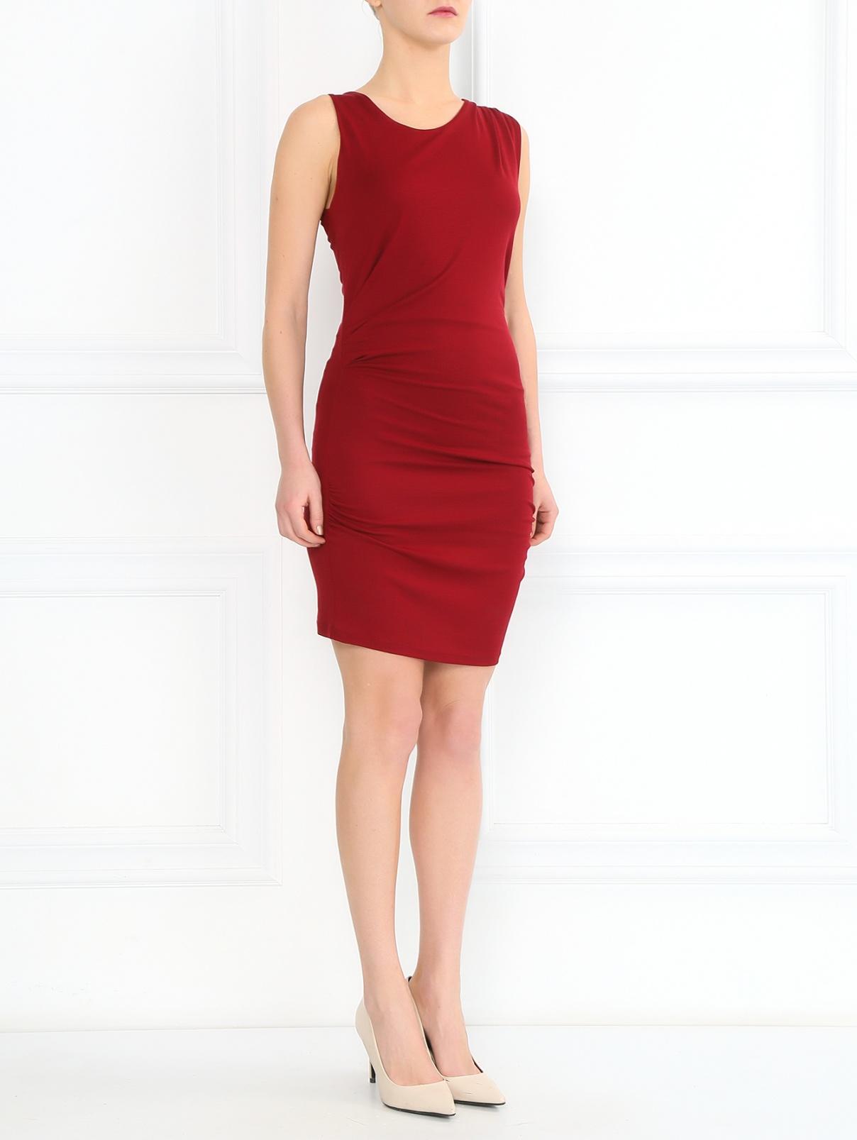 Платье с драпировкой Barbara Bui  –  Модель Общий вид