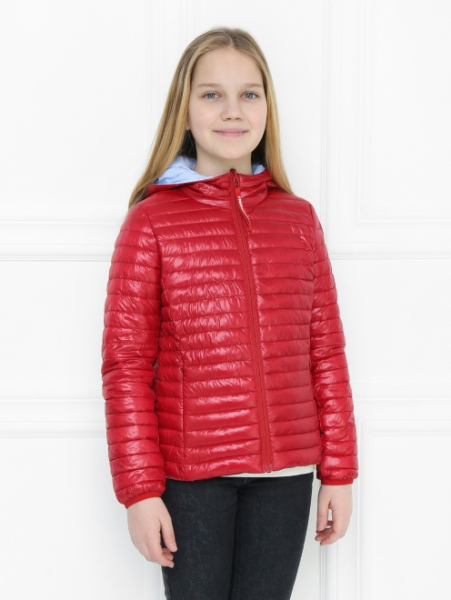 Куртка двухсторонняя с капюшоном Freedomday - МодельВерхНиз