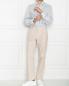 Рубашка из хлопка с цветочным принтом Isaia  –  МодельОбщийВид