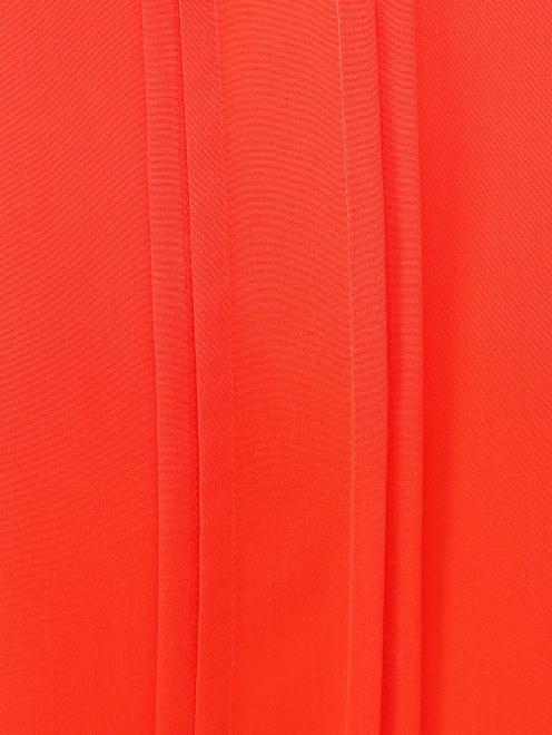 Блуза из шелка с дополнительными рукавами - Деталь