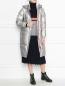 Удлиненное пуховое пальто с капюшоном Bosco Sport  –  МодельОбщийВид