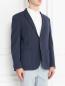Пиджак однобортный из хлопка с узором Sand  –  Модель Верх-Низ