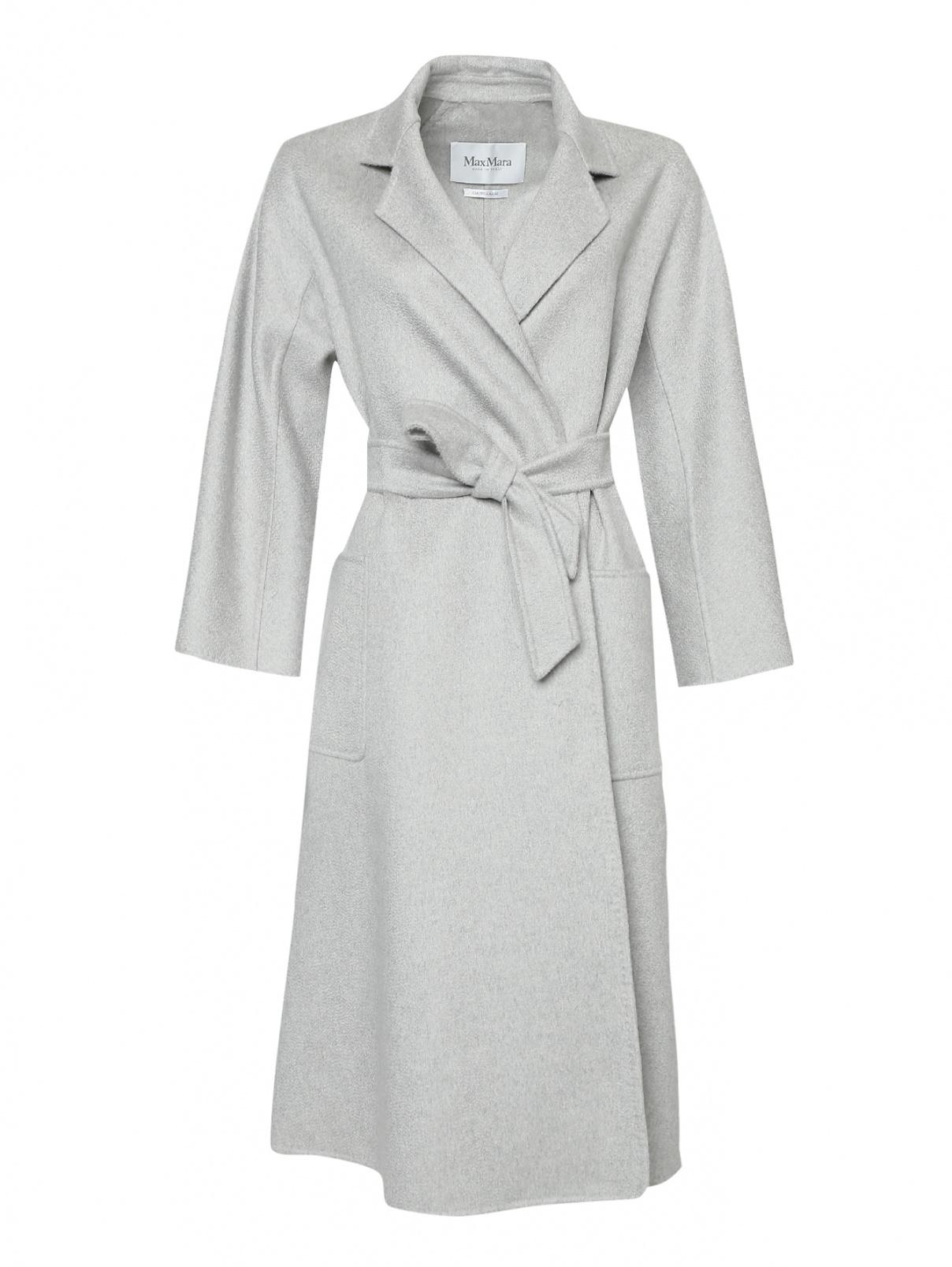 Пальто-халат, из кашемира Max Mara  –  Общий вид