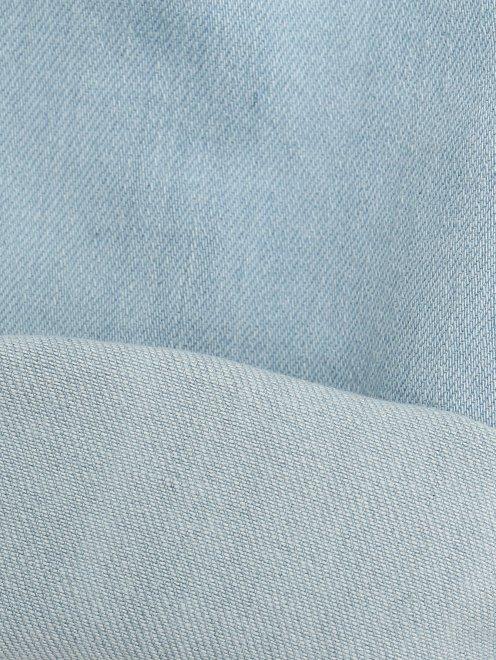 Джинсы-скинни из плотного денима Burberry - Деталь2