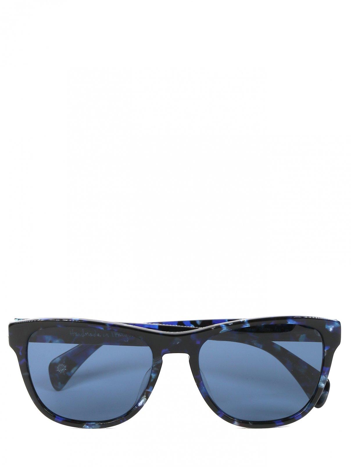 Солнцезащитные очки с узором в пластиковой оправе Paul Smith  –  Общий вид