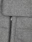 Пуховик удлиненный из шерсти Isaia  –  Деталь