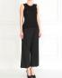 Укороченные широкие брюки из хлопка Barbara Bui  –  Модель Общий вид