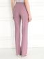 Прямые брюки из смешанной шерсти Alberta Ferretti  –  Модель Верх-Низ1