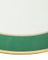 Блюдо овальное с золотой окантовкой Richard Ginori 1735  –  Деталь1