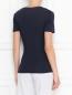 Базовая футболка из хлопка La Perla  –  МодельВерхНиз1