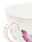 Чайная чашка цветочным узором и окантовкой Richard Ginori 1735  –  Деталь1