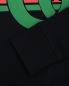 Свитшот хлопковый с принтом Gucci  –  Деталь1