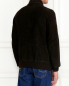 Куртка из кожи на молнии Gimo'S  –  Модель Верх-Низ1