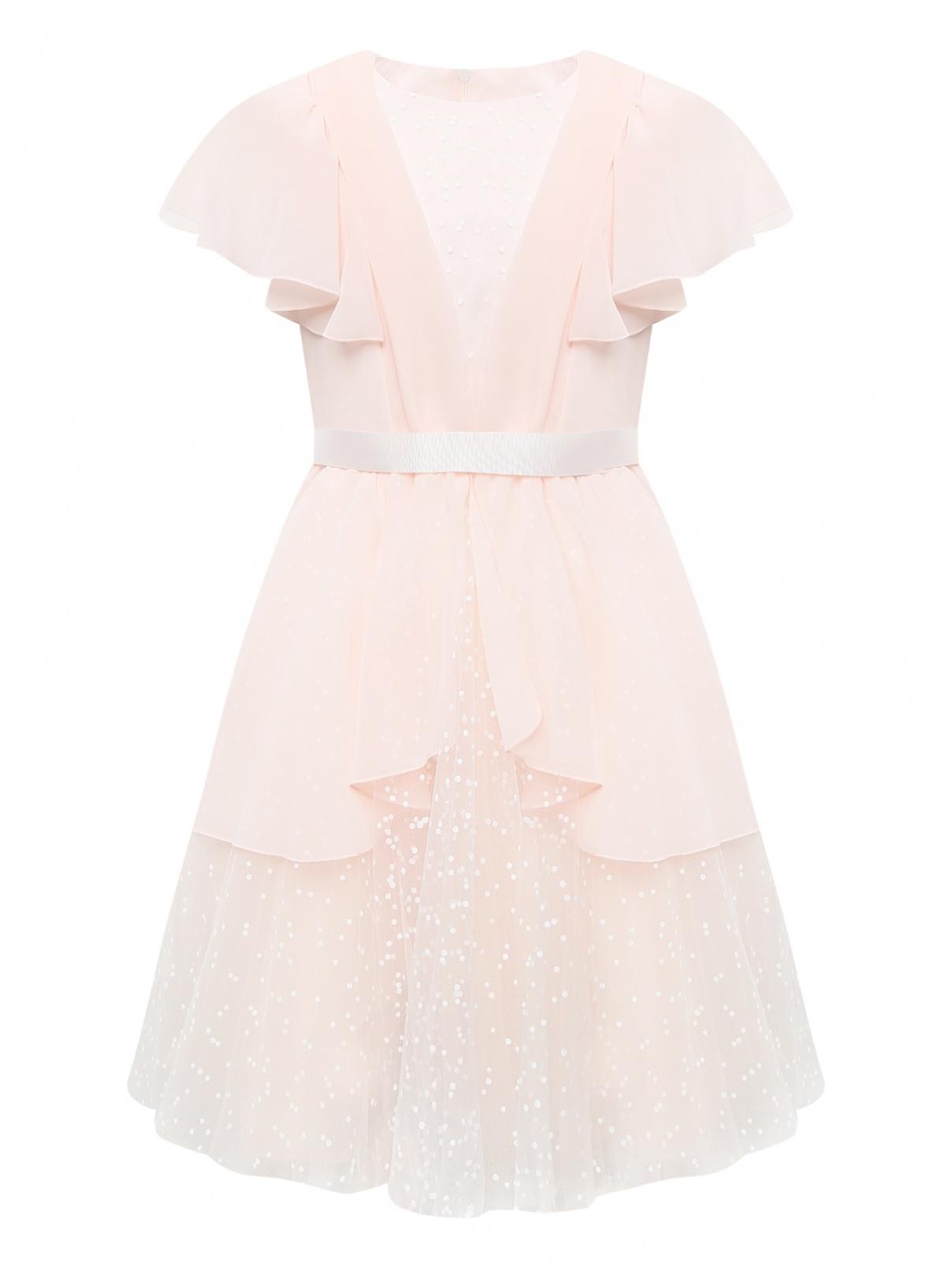 Платье с оборками и пышной юбкой Aletta Couture  –  Общий вид