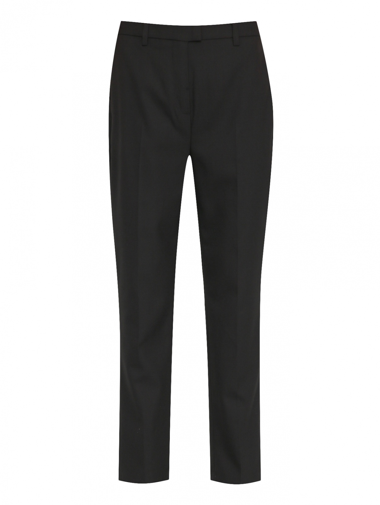 Брюки из смешанной шерсти с карманами Karl Lagerfeld  –  Общий вид
