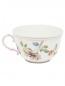 Чайная чашка цветочным узором и окантовкой Richard Ginori 1735  –  Обтравка2