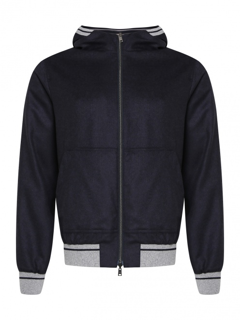 Куртка из шелка и кашемира Herno - Общий вид