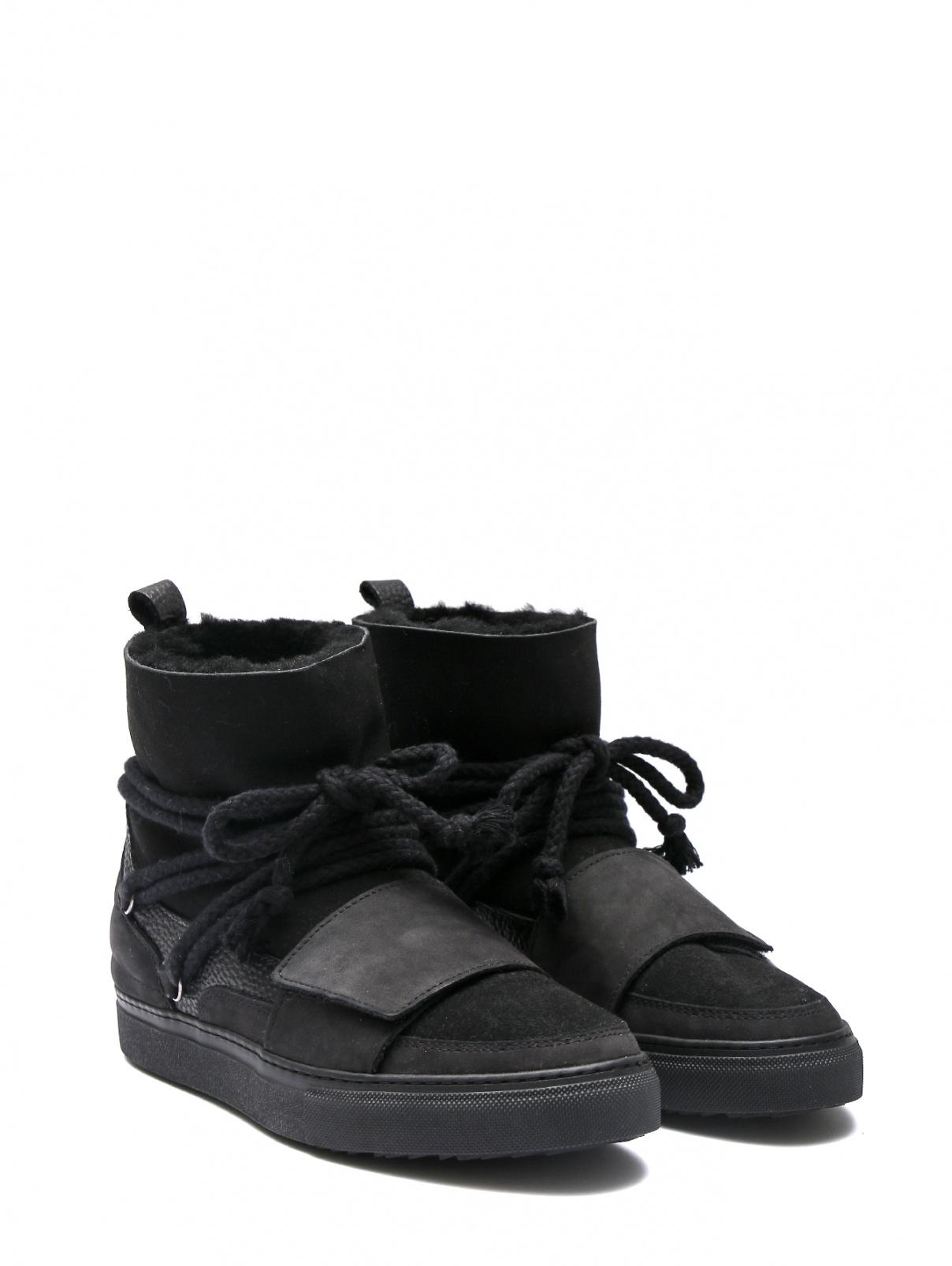 Ботинки на меху из кожи Inuikii  –  Общий вид