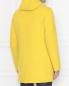 Пальто пуховое из шерсти на молнии с капюшоном Herno  –  МодельВерхНиз1