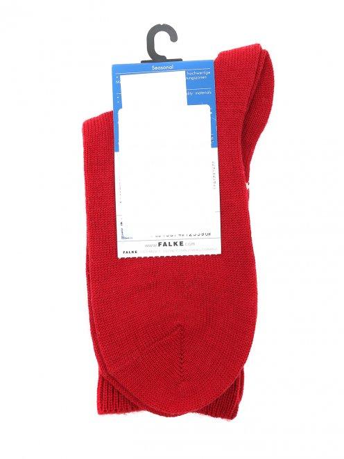 Носки из хлопка с узором  - Общий вид