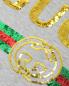 Свитшот удлиненный с пайетками Gucci  –  Деталь