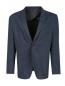 Пиджак однобортный из хлопка с узором Sand  –  Общий вид