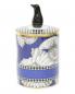 Свеча в фарфоровом подсвечнике  с декоративной фигуркой пингвина на крышке Ginori 1735  –  Обтравка1