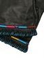 Перчатки из гладкой кожи с контрастной отделкой Etro  –  Деталь