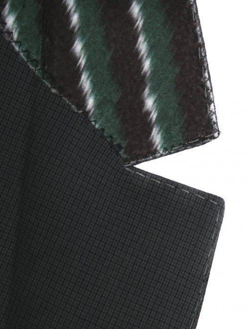Пиджак из хлопка и льна - Деталь1