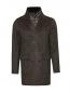 Пальто двубортное из шерсти Moorer  –  Общий вид