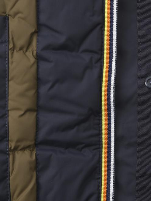 Куртка пуховая на молнии - Деталь1