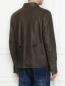 Куртка из кожи на пуговицах Etro  –  МодельВерхНиз1