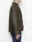 Куртка из кожи на пуговицах Etro  –  МодельВерхНиз2