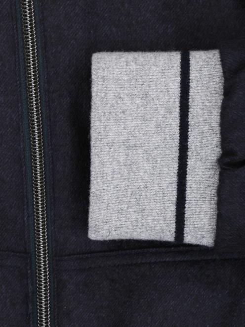 Куртка из шелка и кашемира Herno - Деталь
