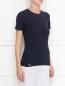 Базовая футболка из хлопка La Perla  –  МодельВерхНиз