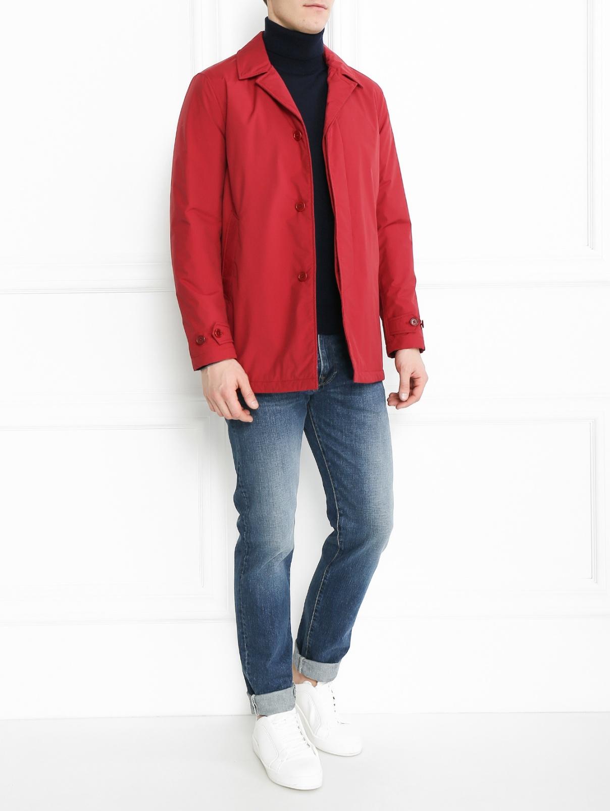 Утепленная куртка свободного кроя Aspesi  –  Модель Общий вид