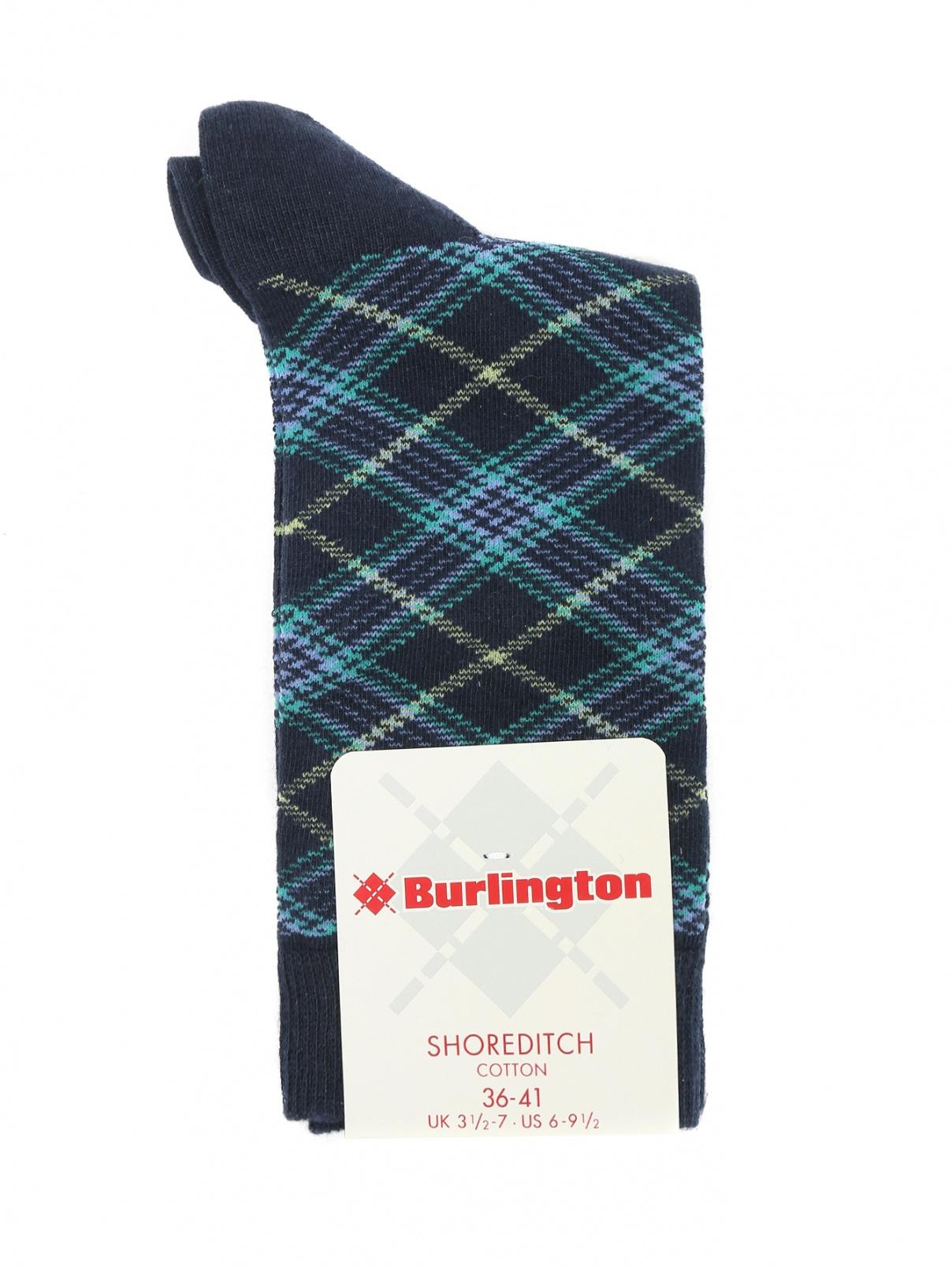"""Носки из хлопка с узором """"клетка"""" Burlington  –  Общий вид"""