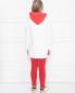 Костюм хлопковый с вышивкой Moncler  –  МодельОбщийВид3