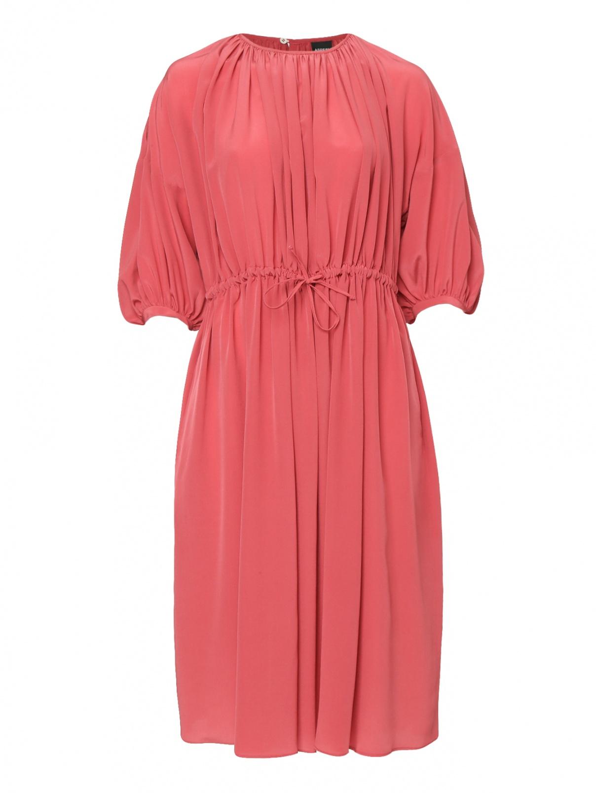 Платье-миди из шелка свободного кроя Aspesi  –  Общий вид