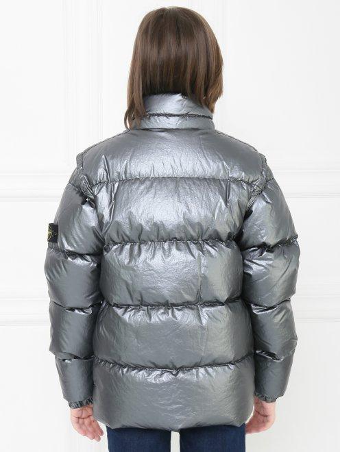 Куртка  на молнии - МодельВерхНиз1