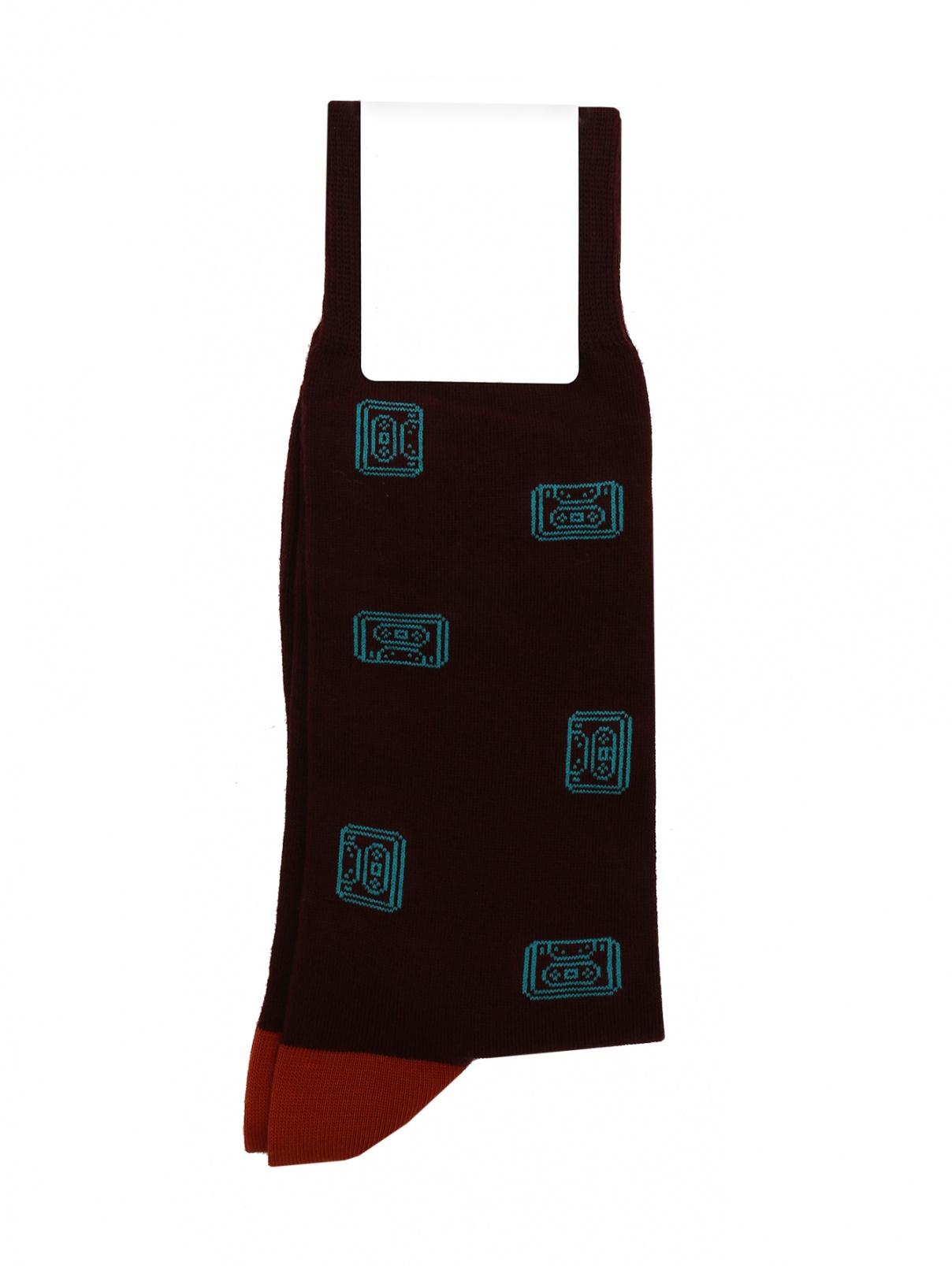 Носки из хлопка с узором Paul Smith  –  Общий вид