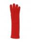 Перчатки из кашемира мелкой вязки Inverni  –  Обтравка1