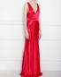 Платье макси с V-образным вырезом Galvan London  –  МодельВерхНиз