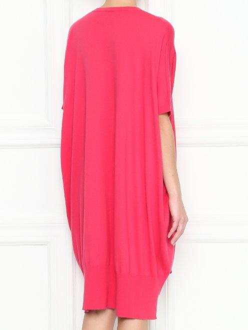 Платье из хлопка и кашемира свободного кроя - МодельВерхНиз1