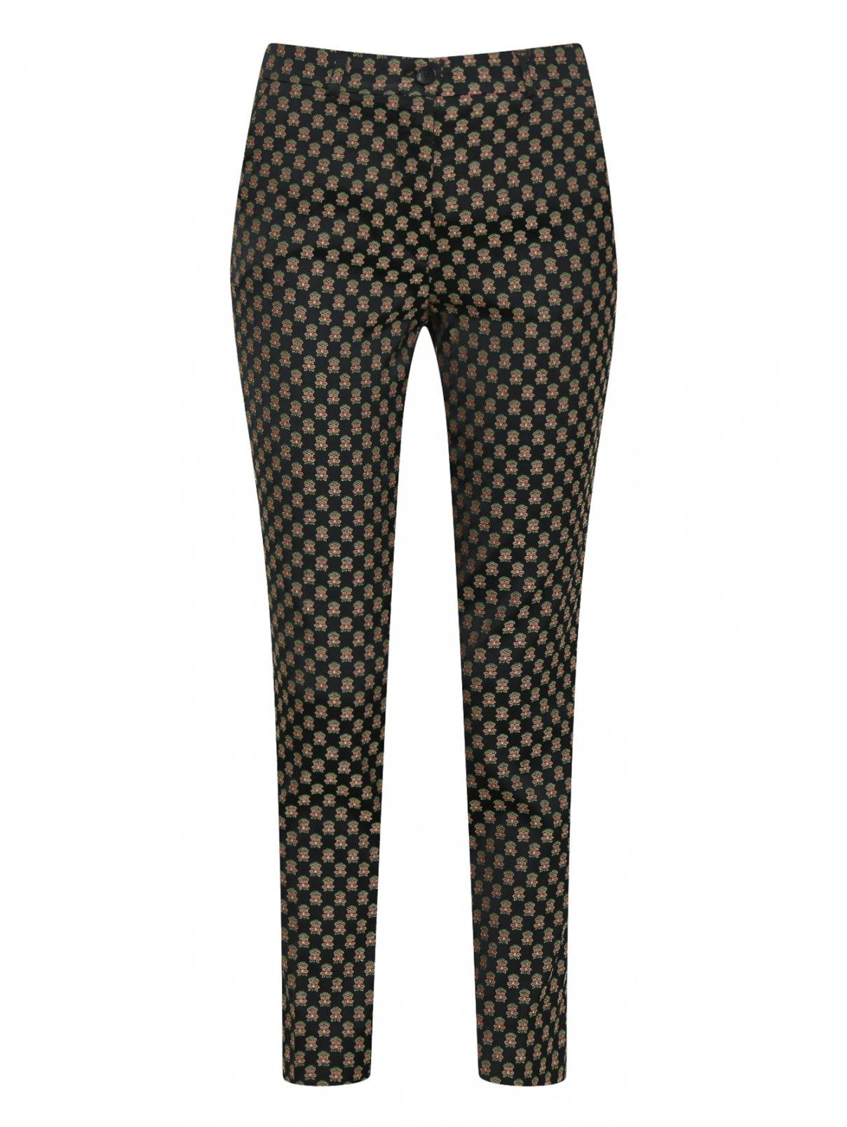 Зауженные брюки с цветочным принтом Etro  –  Общий вид