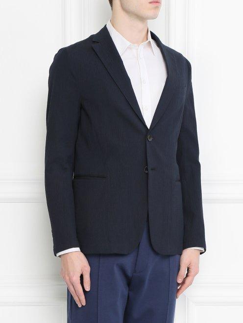 Пиджак из хлопка - Модель Верх-Низ