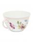 Чайная чашка цветочным узором и окантовкой Richard Ginori 1735  –  Обтравка1